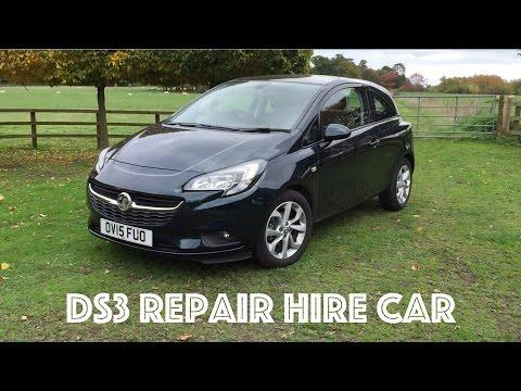 DS3R Cabrio - Repairs Hire Car