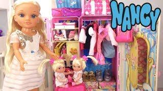 NANCY  Prepara sus maletas con sus hermanitas traviesas con accesorios nuevos - Armario de Cuentos