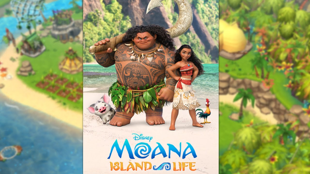 Animated Watch Wallpaper For Mobile New Disney Moana Island Life Mobile Game Youtube