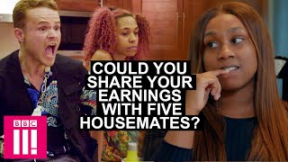 Could You Share Your Earnings With Five Housemates?   HouseShare Now on iPlayer