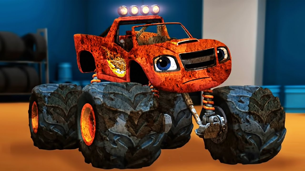 It is an image of Epic Pictures of Blaze and the Monster Machines