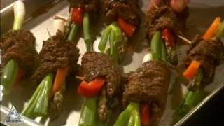 Venison Steak Rolls Recipe
