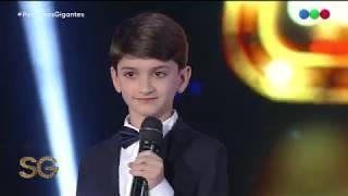 Tiene 11 años y sorprende a todo el mundo cantando ópera - Susana Giménez 2019