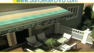 Sun Setter Shade Awning New Jersey - Aluminum Outdoor Canopy