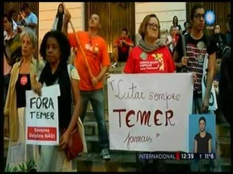 La destitucion de Dilma y las marchas en Venezuela || Television Publica Noticias Internacional