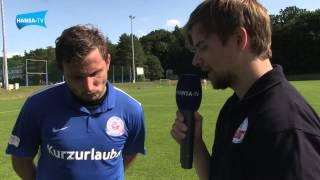 Interviews nach dem Testspiel gegen Silkeborg IF