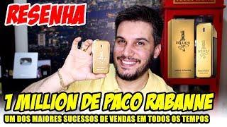 Resenha 1 MILLION DE PACO RABANNE - Um MITO na Perfumaria Importada - Review One Million