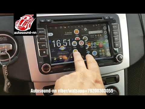 """Штатная Магнитола SP Volkswagen Passat B6 7""""(4 ядра 2/32)android 8.1"""