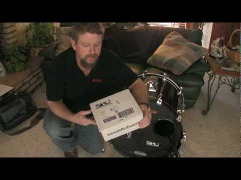 Kelly Shu Bass Drum Shockmount review with Tobe London