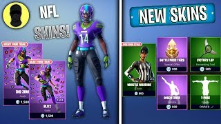 THE NFL SKINS! (Fortnite NEW SKINS Item Shop) [November 9th] Fortnite | Merl