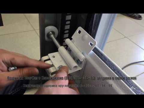 Установка ворот дорхан rsd01 своими руками видео секционных