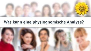 Was kann eine physiognomische Analyse?