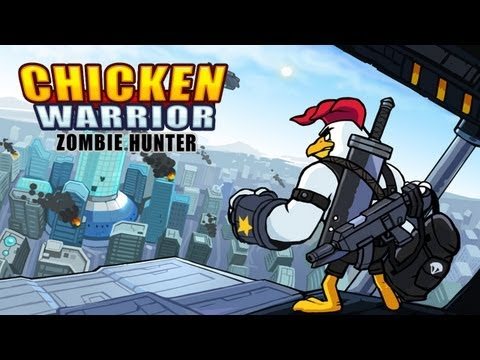 Chicken Warrior : Zombie Hunter - iPhone/iPod Touch/iPad - HD Gameplay Trailer