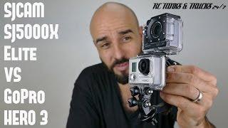 SJCAM SJ5000X Elite vs GoPro Video Comparison & Review - 1080P, 2K & 4k GoPro Killer?