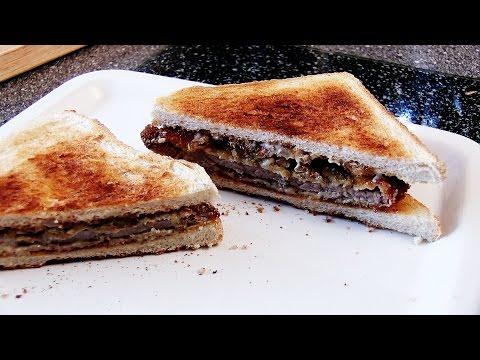 REZEPT: COUNTRY FRIED STEAK SANDWICH - schnell und einfach selber machen!