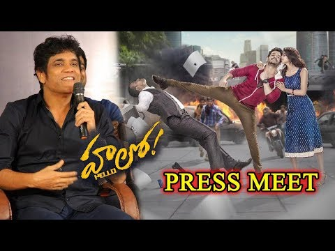 Akkineni Nagarjuna Press Meet On Akhil's Hello Movie | Akhil Akkineni | TV5 News
