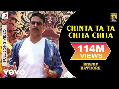 Chinta Ta Ta Chita Chita - Rowdy Rathore | Akshay Kumar | Kareena Kapoor Khan