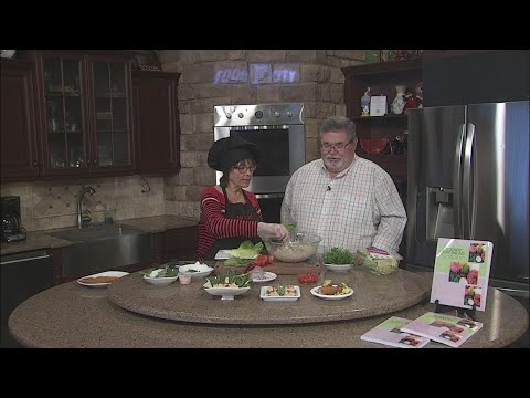Sprouted Chickpea Salad with Raw Chef Jane (Part 2)