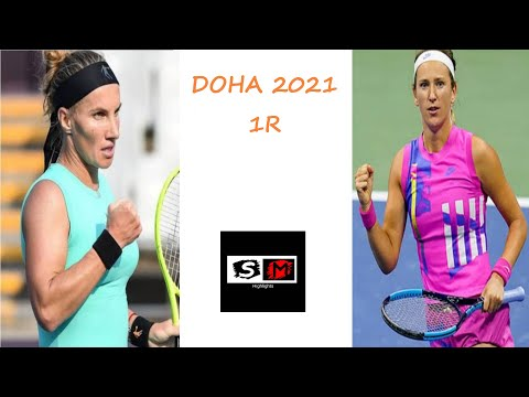 Azarenka vs Kuznetsova Highlights