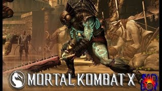 Mortal Kombat X - Kotal Kahn (War God/Deus da Guerra) - Klassic Tower On Very Hard (No Matches Lost)