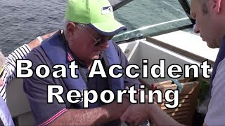 Boat Accident Reporting