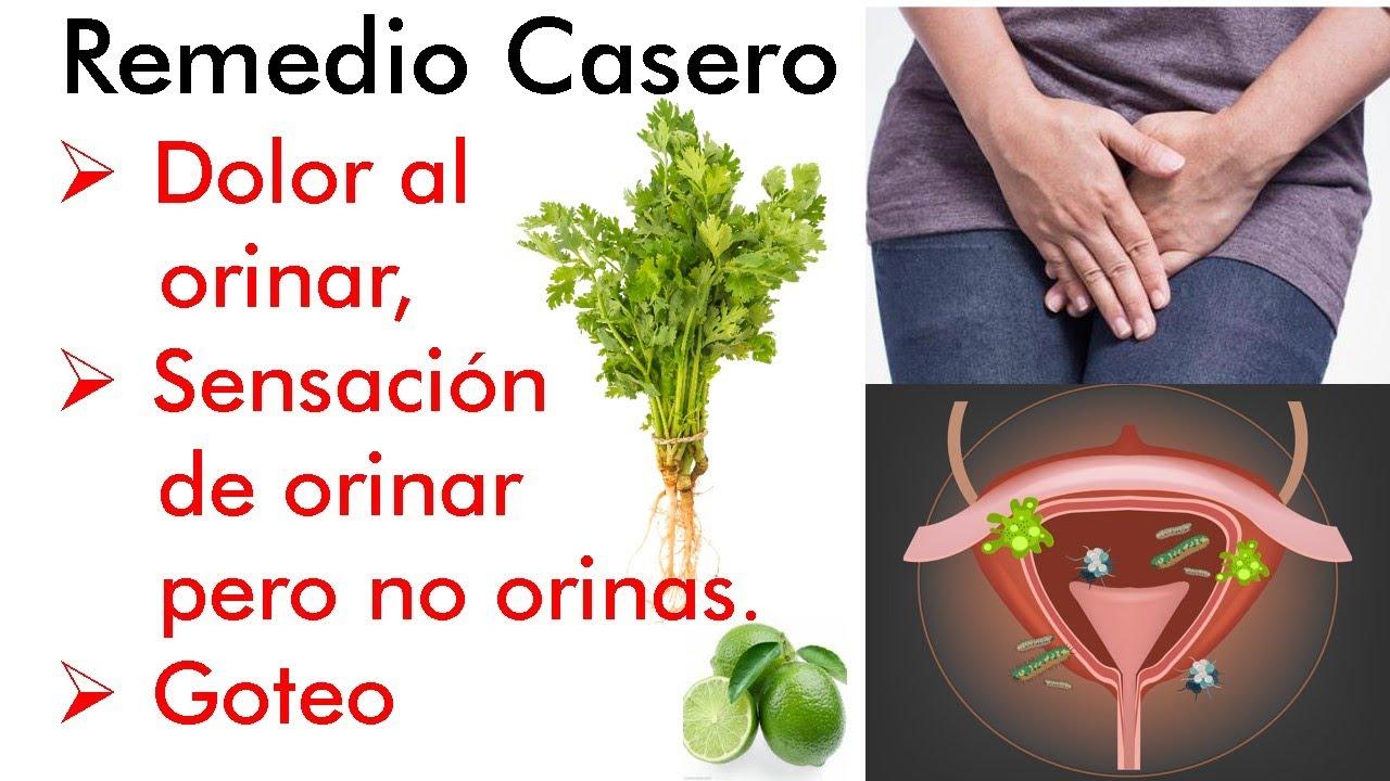 Remedio Casero Con Perejil Y Limón Dolor Al Orinar O Sensación De Orinar Pero No Orinas Y Goteo Youtube