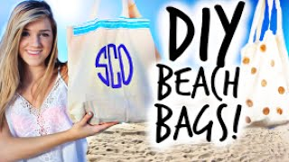 DIY Beach Bags + What