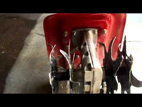 Sears Speed Start 4 Cycle Mini Tiller
