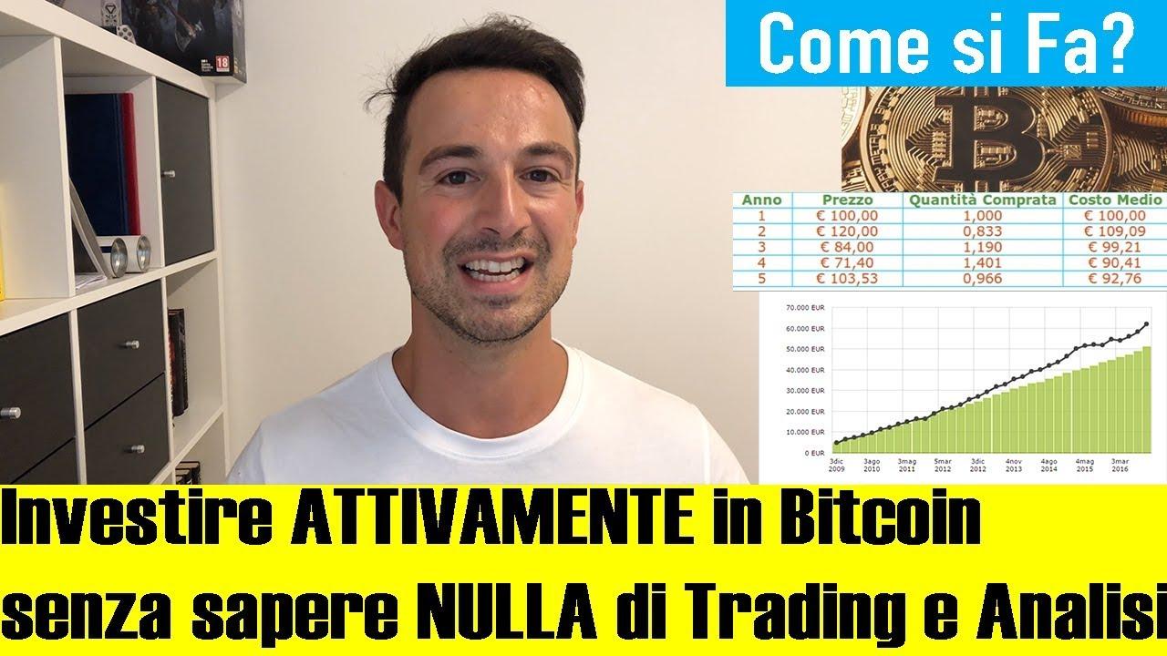 commerciare con la criptovaluta di machine learning piano di investimenti per bitcoin