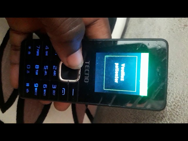 Tecno t341 how to remove input password