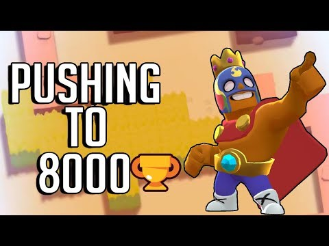 Pushing to 8,000 Trophies with El Primo in Showdown! Brawl Stars