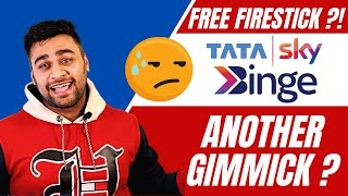 Tata Sky Binge Offer ! Free Amazon Firestick ! Worth It Or Another Gimmick ?