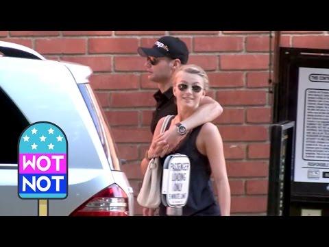 Ryan Seacrest And Julianne Hough Together In LA! FLASHBACK