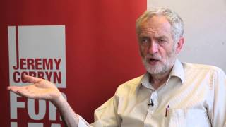 John Rees talks to Jeremy Corbyn