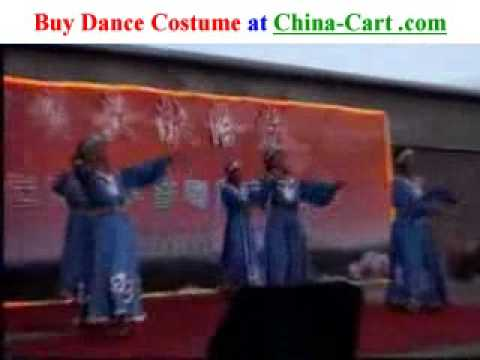 Daur folk dance Dawo Er Zu Traditional minority China people
