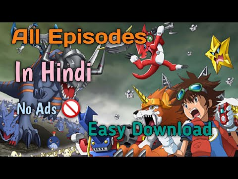 How To Download Digimon Xros Wars Any Episode In Hindi