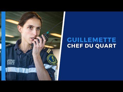#Portrait - Guillemette, officier responsable de la navigation et des opérations maritimes