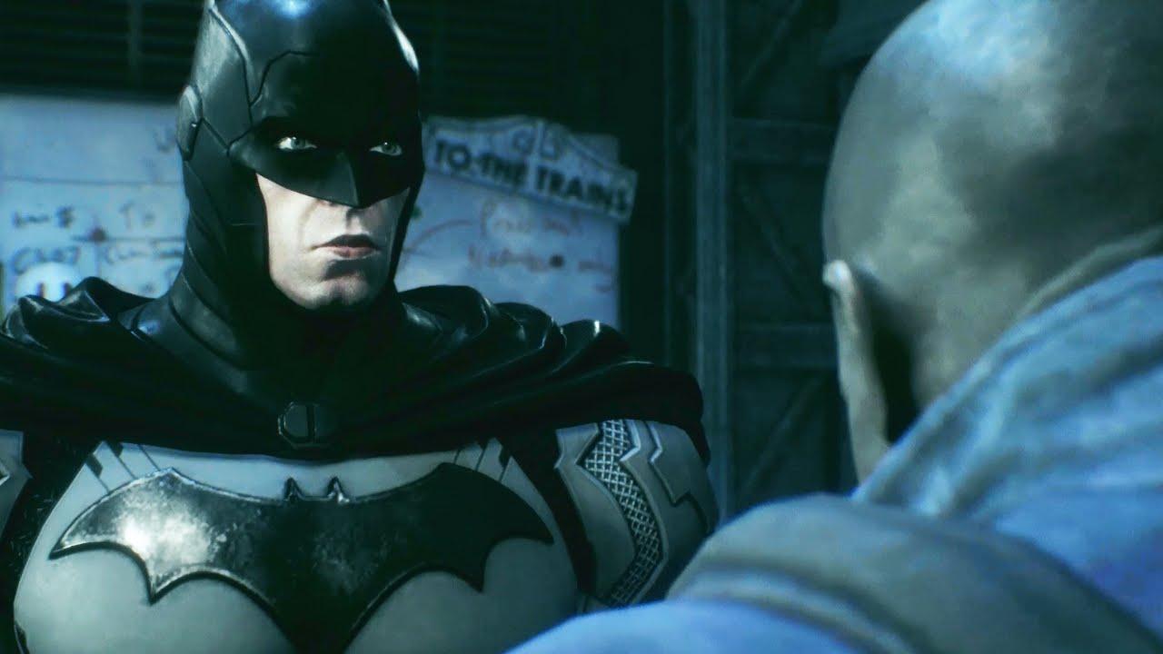 batman arkham knight new 52 batsuit skin gameplay all hd