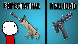 Expectation vs Reality in Fortnite ? Animation