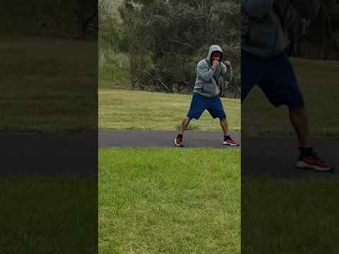 Boxing training in fresh weather Melbourne