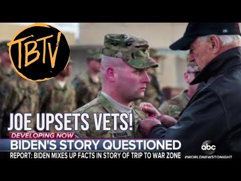 WAPO SAYS JOE BIDEN VETERANS STORY DOESN'T ADD UP!