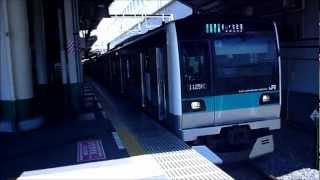 松戸車両センター所属 E233系2000番台 マト7編成.