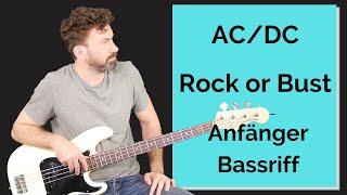 Rock or Bust - Bass - AC/DC Bassriff