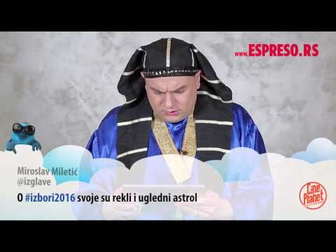 #EspresoTviter: Milan Tarot čita tvitove o sebi
