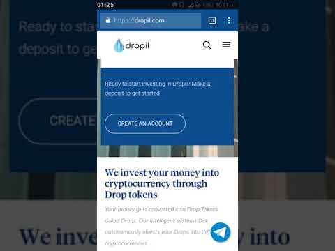 [ANN]Dropil - Next Gen Cryptocurrency Investments & Retirement Plans - PRESALE!