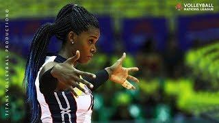 Bethania De La Cruz De Pena   POWERFUL Volleyball SP KES  Womens VNL 2019