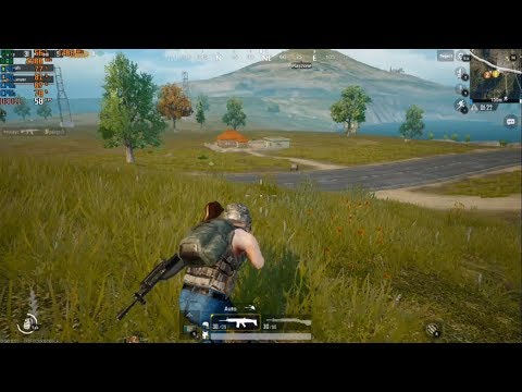 PUBG Mobile Gameplay On Pc | Official Tencent's Gaming Buddy Emulator | 60fps Ultra HD Graphics