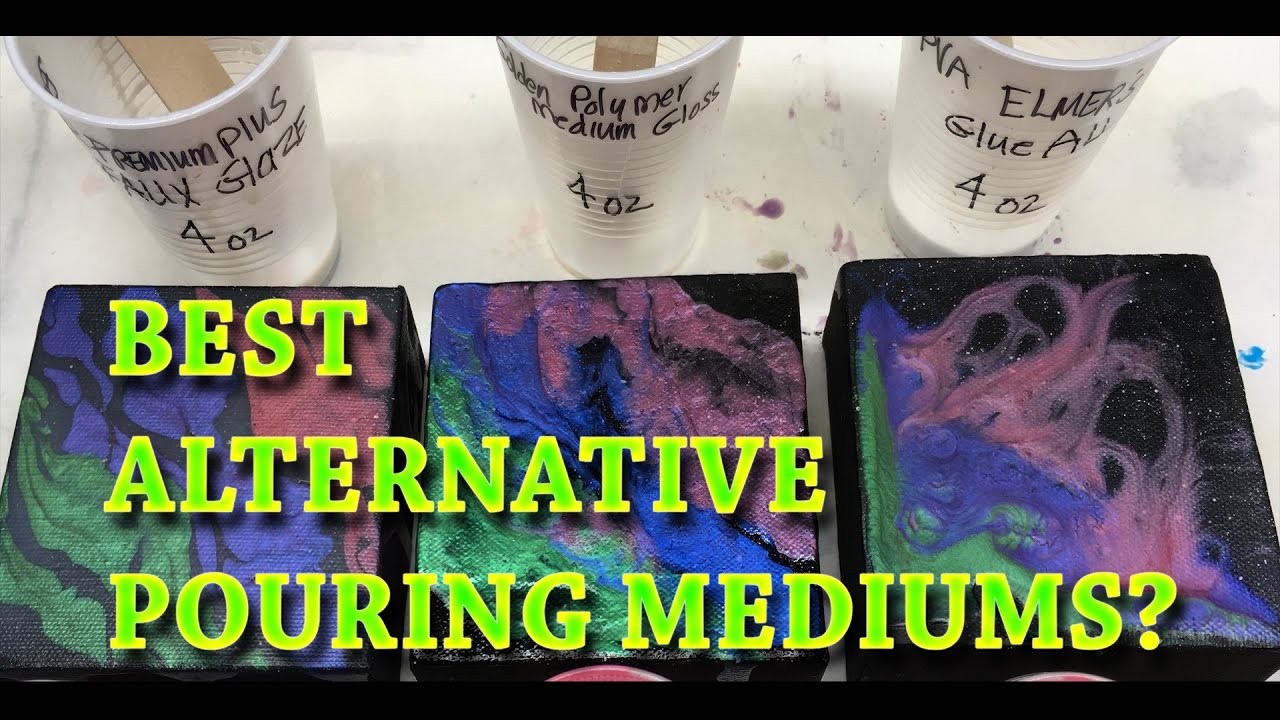 Best Alternative Pouring Mediums Top Subtitutes For Floetrol