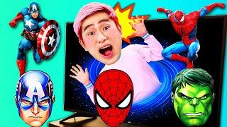 슈퍼히어로 강이 스파이더맨 헐크 영상 모아보기 Superhero Spiderman hulk
