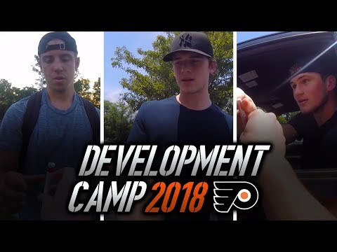 MEETING THE FUTURE OF THE FLYERS | Philadelphia Flyers Development Camp 2018 Vlog